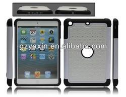 Cheap Price White Hard Case for ipad mini/Diamond Hard Back Cover Case for Ipad mini