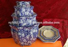 4pcs Porcelainware pots with sauces set