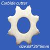 Scarifier Cutter Used On Concrete Surface Preparation - Buy Scarifier Cutter