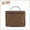 2014 Travel Toiletry Bags,Cosmetic Bag brown kraft paper food bag