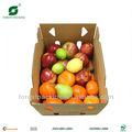 cajas de cartón de frutas y verduras