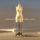 Ladies dummy torso form for dressmakers