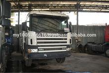 USED RIGID TRUCK SCANIA P114 8X4 340HP