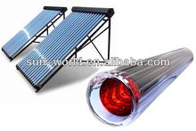 Vacuum tube sunshine heat pipe solar collector