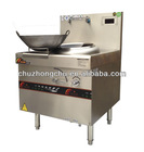 CZC brand 15KW high efficiency stainless steel commercial induction chinese kitchen range