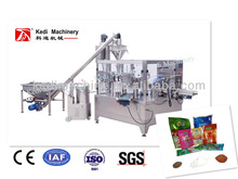 Rotary Premade pouch food powder packaging machine