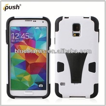 case with stand for samsung galaxy s5 i9600 pc combo design case for samsung galaxy s5