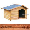 Wooden Dog Kennel With Run DFD001