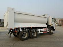 SINOTRUK 25-30tons truck loading hopper/hopper truck