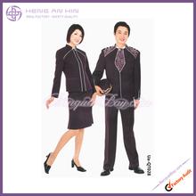 Printed doorman uniform in wine for Hotel bellboy bellman doorboy doorman Uniform