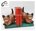 Artisanat en bois chats de thaïlande