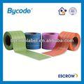 Custom colorée. rouleau de papier couché étiquette autocollante, conception de l'étiquette