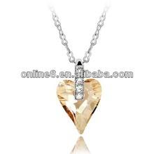 Newest Fashion Jewelry Set Wholesale Crystal Necklace imitation costume jewelery
