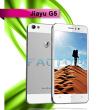 4.5 Inch IPS Gorilla OGS Quad Core 1.5GHZ 1GB RAM 4GB ROM Active Dual Sim 13MP 3G Jiayu G5 Smart Phone MTK6589T Android 4.2
