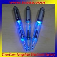 2014 new decorative led light ballpoint pens