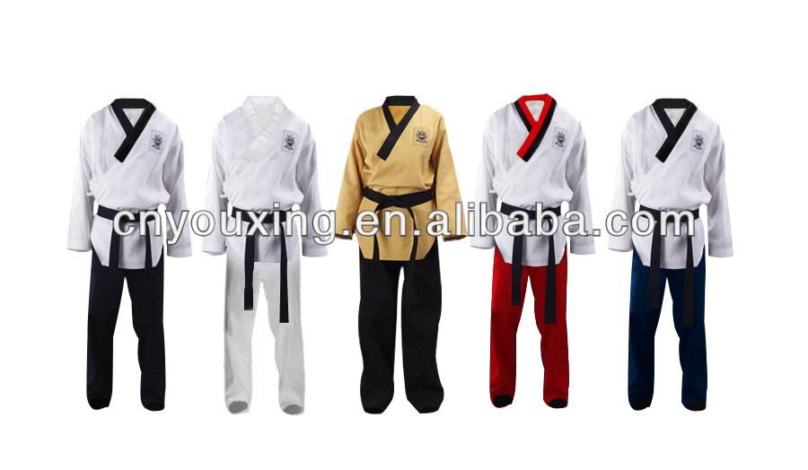WTF taekwondo poomsae uniform,martial arts TKD dobok/ kimono