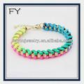 2014 las nuevas tendencias de la joyería pulseras link tejido braclet