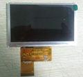 7.0 '' de pantalla táctil con CTP LCD módulo