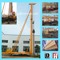 Construction professional pedrail long spiral hydraulic hammer pile driver