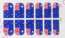 USA flag nail art sticker nail foil nail wrap
