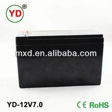 12V 7ah drained scrap lead acid batteries