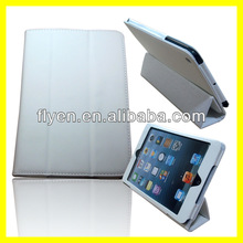 For Apple iPad Mini Magnetic PU Leather Luxury trifold case Cover Sleep Wake