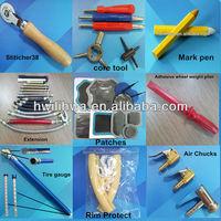 wheel and tire repair tools