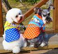 2014 nuevo diseño para mascotas al por mayor de ropa de moda para mascotas con blusas poco estrella patrón