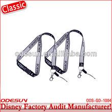 Disney factory auditfunny custom lanyard keychain 143742