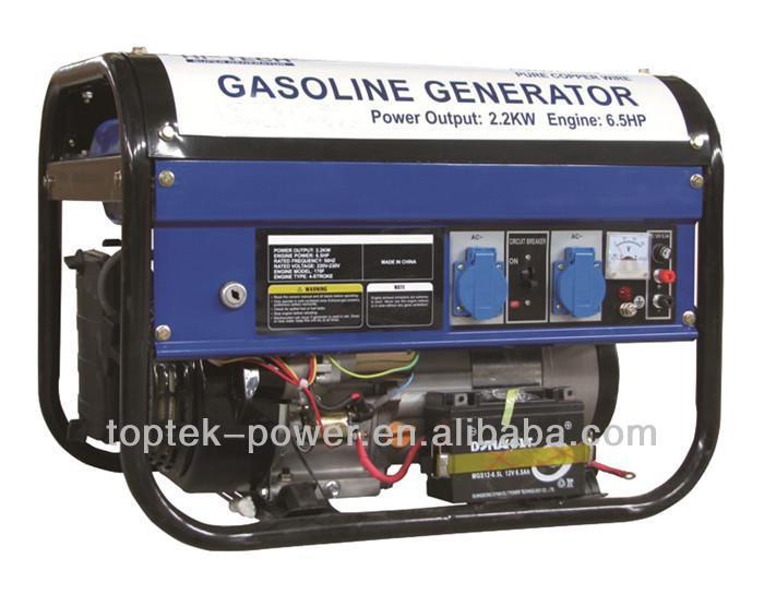 tg2500(e) pertrol generator