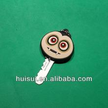 best sell soft PVC plastic key covers
