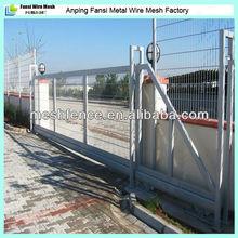 sliding metal gates modern metal gates and fences curved sliding gate(wire mesh fence for sale)