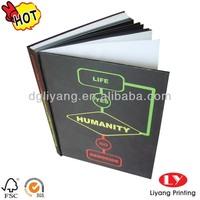 Cheap hardcover books printing service casebound books