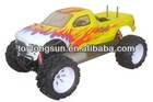 1/5 scale gasoline r c cars and trucks