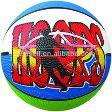New arrival popular official size weight rubber basketball