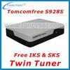 Receptor tocomsat phoenix hd Twin tuner decodificador tocomfree s928s receptor decoder with Free IKS SKS nagra 3 south america