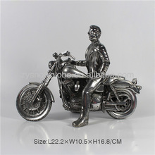 Resin motorcycle model