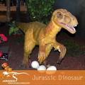 Parcs à thème amusant, nom de dinosaures, deinonychus