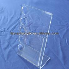 Retail Store PVC acrylic and plastic display shelf