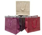 high quality packing paper bag with custom logo ,shopping carry paper bag,colorful gift paper bag