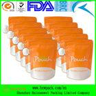 CUSTOMIZED reusable juice spout pouch BPA free