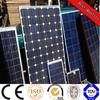 140W solar panel for solar power system solar water pump system