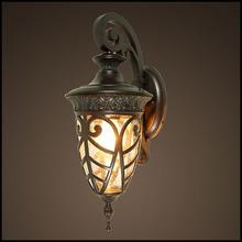 Special bending branches outdoor garden lamp in wall lighting