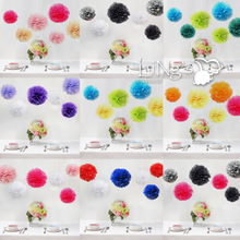 LiNg's Handmate Tissue Paper Pompoms Wedding Party Decoration