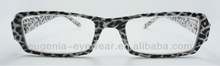supermarket reading glasses,new modles,with leopard print
