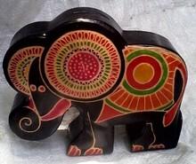 PIGGY BANK WILD ELEPHANT