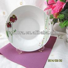 8 inch ceramic soup plate,8 inch ceramic salad plate,bulk ceramic plates