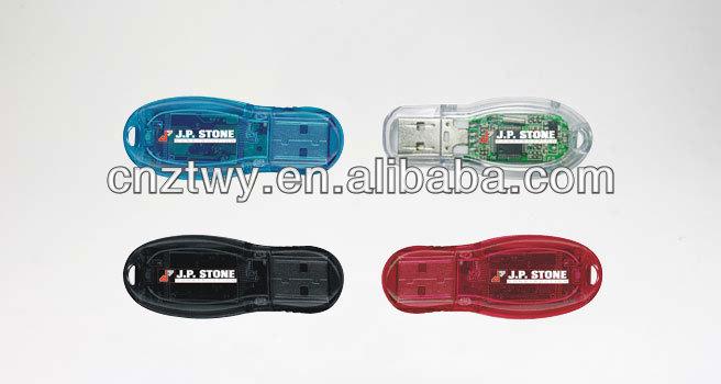 cheapest peanut shaped plastic usb flash memory, transparent usb flash drive, high quality memory stick, 500gb usb flash memory