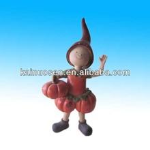 lovely resin model kit figures with pumpkin