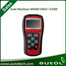 MS509 Autel Code Reader Autel MaxiScan MS 509 OBD 2 Scanner Prints Data Via Your PC Live Data